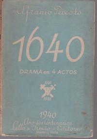 1640 DRAMA EM 4 ACTOS  Afranio Peixoto