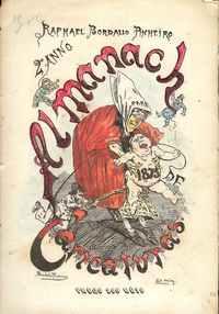 ALMANACH DE CARICATURAS PARA 1875 – Raphael Bordallo Pinheiro