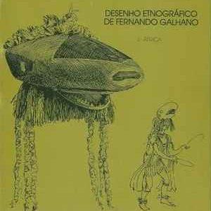 DESENHO ETNOGRÁFICO de Fernando Galhardo * II ÁFRICA  * 1985/86