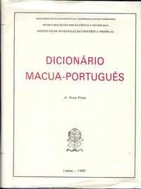 DICIONÁRIO MACUA-PORTUGUÊS   –   A. Pires Prata    –  1990