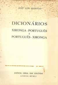 Dicionários xironga-português e português-xironga