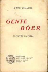 GENTE BÓER – Aspectos d'África  –  Brito Camacho     1930