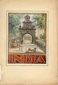 INDIA – L'INDE PORTUGAISE         Exposição Colonial Portuguesa – Antuérpia 1930