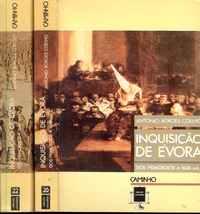 INQUISIÇÃO DE ÉVORA  Dos Primórdios A 1668         António Borges Coelho      1987   1ª Ed.