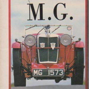 M. G. – Un Livre-Décor * Chris Harvey   1986