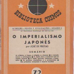 O IMPERIALISMO JAPONÊS * José de Freitas   1944