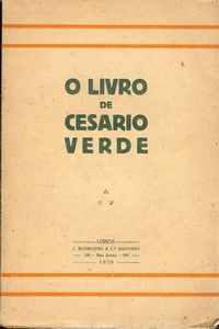 O LIVRO DE CESÁRIO VERDE     1926