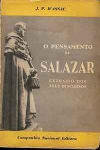 O PENSAMENTO DE SALAZAR     –    J. P. d'Assac      –    1952