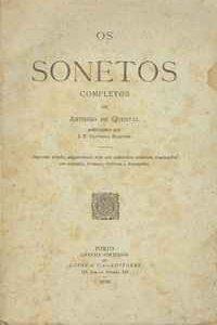 OS SONETOS COMPLETOS          Anthero de Quental     1890