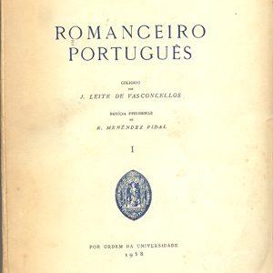 Romanceiro português  José Leite de Vasconcelos  pref. Ramon Menendez Pida