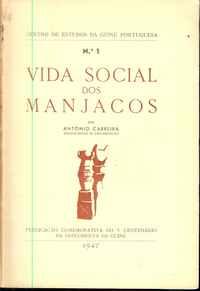 VIDA SOCIAL DOS MANJACOS         António Carreira      1947